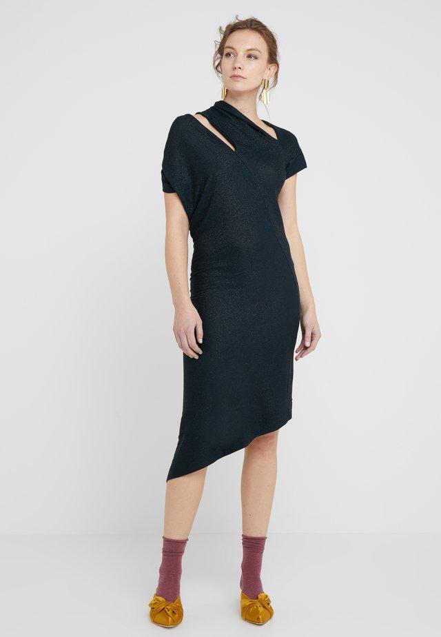 TIMANS DRESS - Neulemekko - black