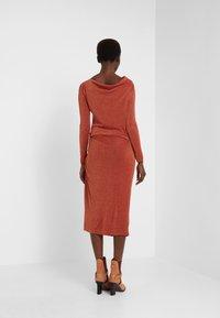 Vivienne Westwood Anglomania - TAXA DRESS - Jersey dress - rust - 2