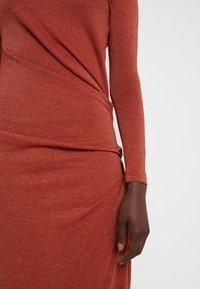 Vivienne Westwood Anglomania - TAXA DRESS - Jersey dress - rust - 6