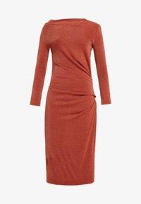 Vivienne Westwood Anglomania - TAXA DRESS - Jersey dress - rust - 5
