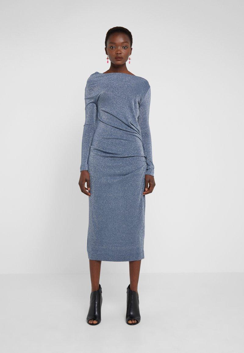 Vivienne Westwood Anglomania - TAXA DRESS - Cocktailkleid/festliches Kleid - blue