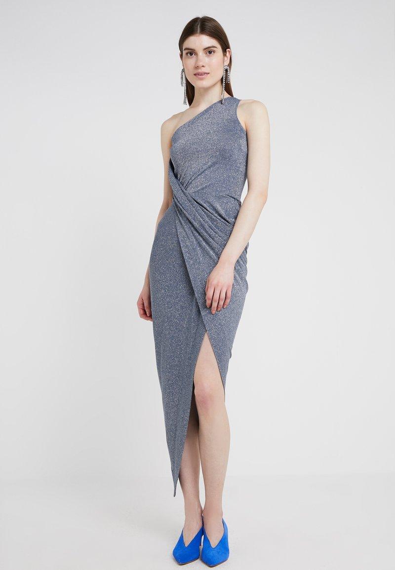 Vivienne Westwood Anglomania - ONE SHOULDER VIAN DRESS - Vestido de fiesta - blue