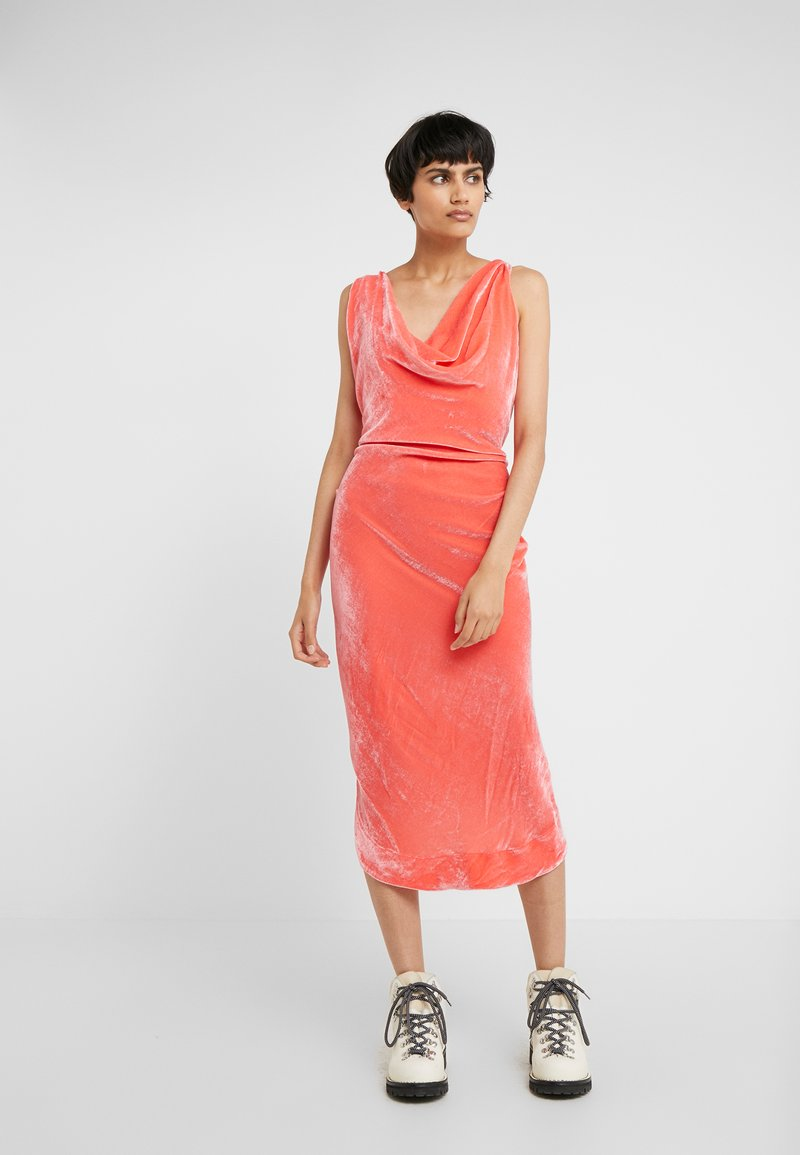 Vivienne Westwood Anglomania - VIRGINIA DRESS - Day dress - shrimp
