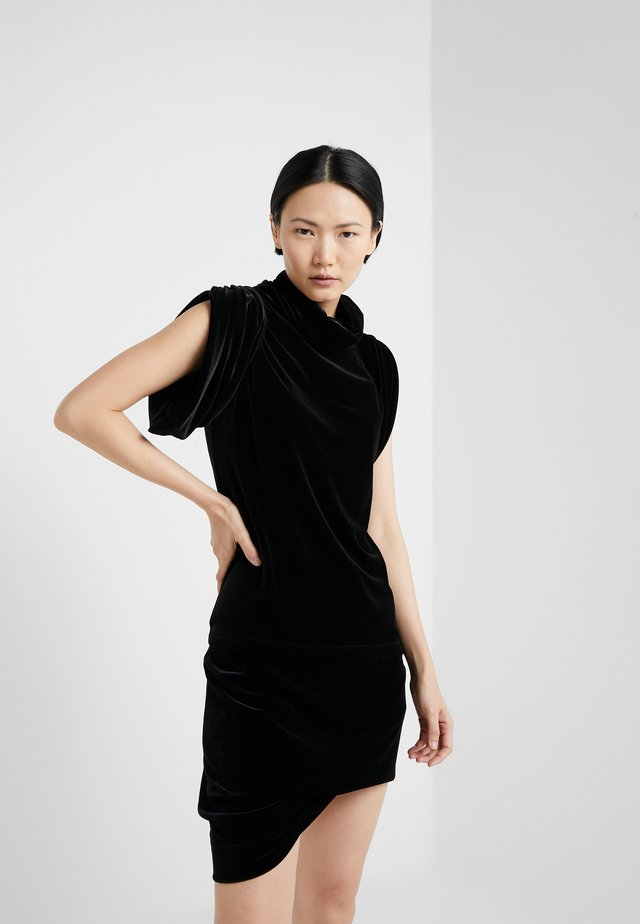 PUNKATURE DRESS - Juhlamekko - black