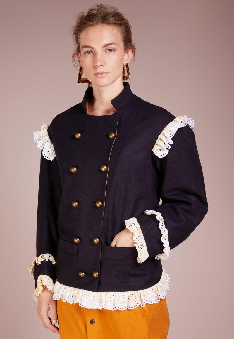Vivienne Westwood Anglomania - PIRATE JACKET - Giacca leggera - navy