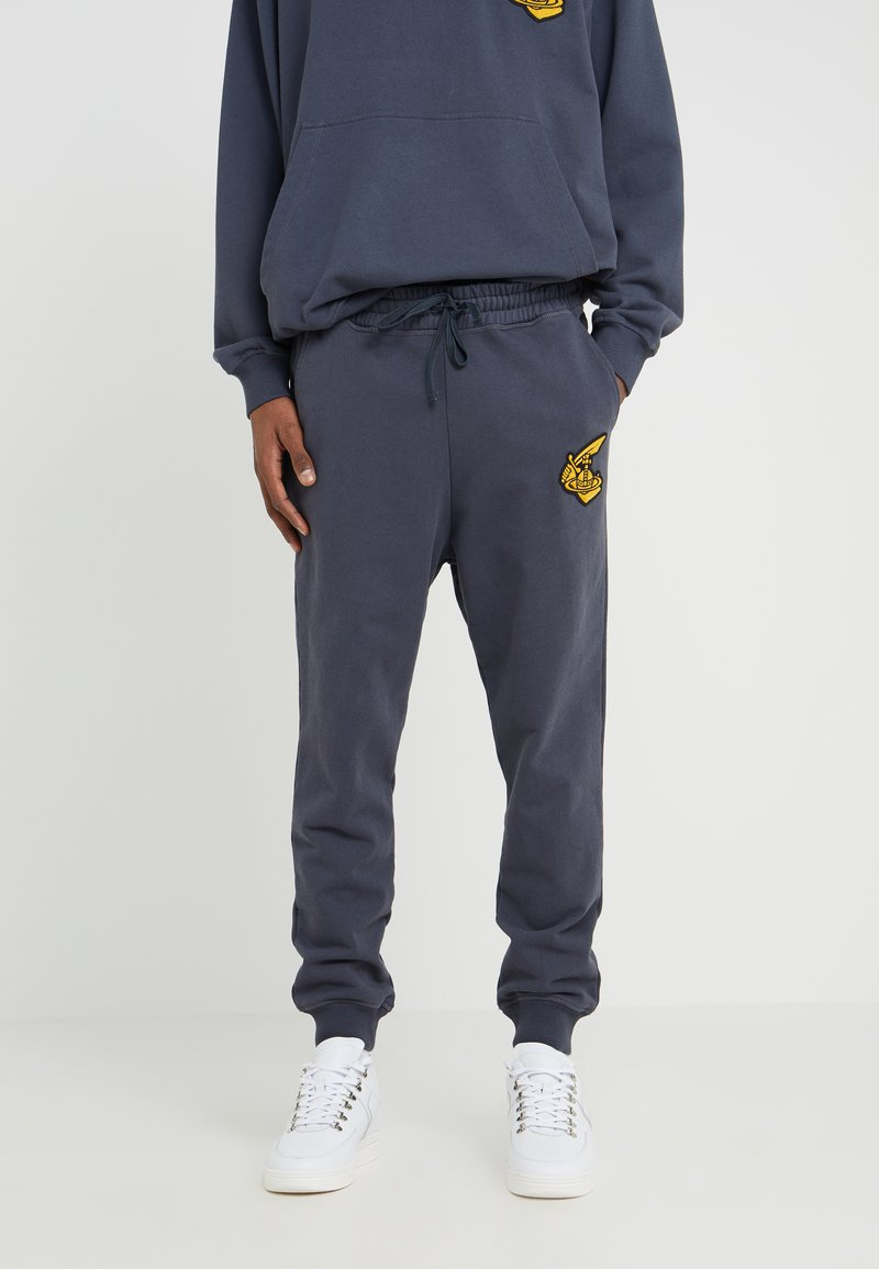 Vivienne Westwood Anglomania - TRACKSUIT - Pantalon de survêtement - anthracite