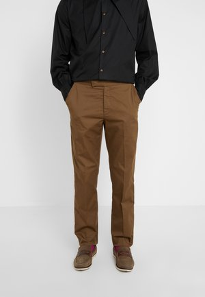MENS TROUSERS - Stoffhose - beige