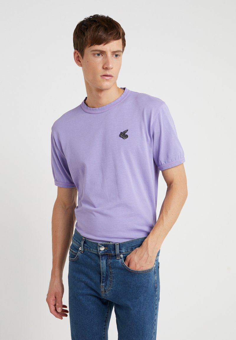 Vivienne Westwood Anglomania - NEW CLASSIC BADGE - T-Shirt basic - lilac