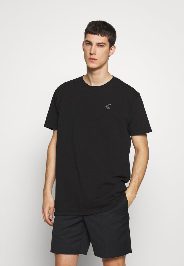 BOXY ARM CUTLASS PRINT - Print T-shirt - black