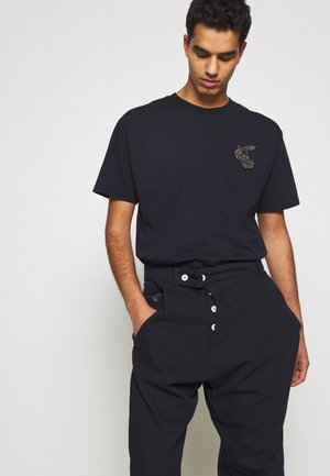 NEW BOXY BADGE - T-shirt con stampa - royal blue