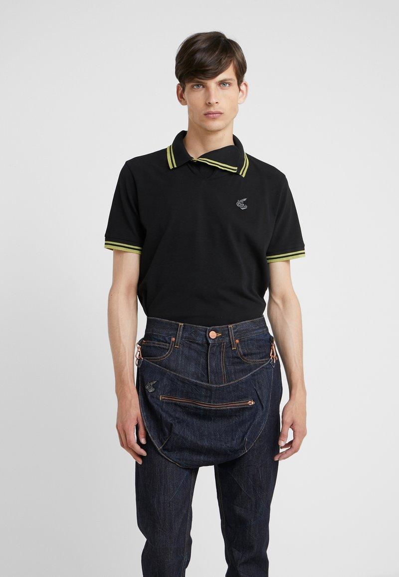 Vivienne Westwood Anglomania - SQUGGLE - Polo shirt - black