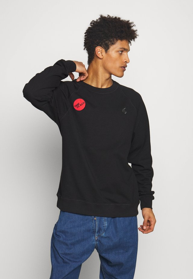 CLASSIC TIME TO ACT - Sweatshirt - black