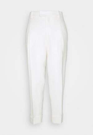 DAVE TROUSERS - Bukser - white