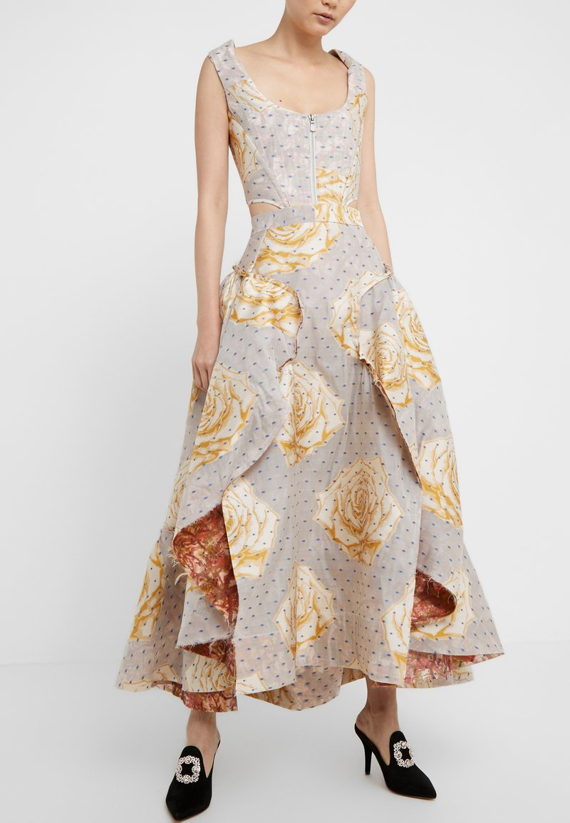 Vivienne Westwood - FROU FROU SKIRT - Maxi sukně - natural