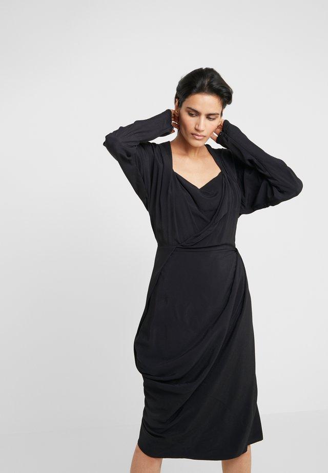 GRAND FOND DRESS - Korte jurk - black