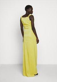 Vivienne Westwood - LONG GINNIE DRESS - Iltapuku - yellow - 2