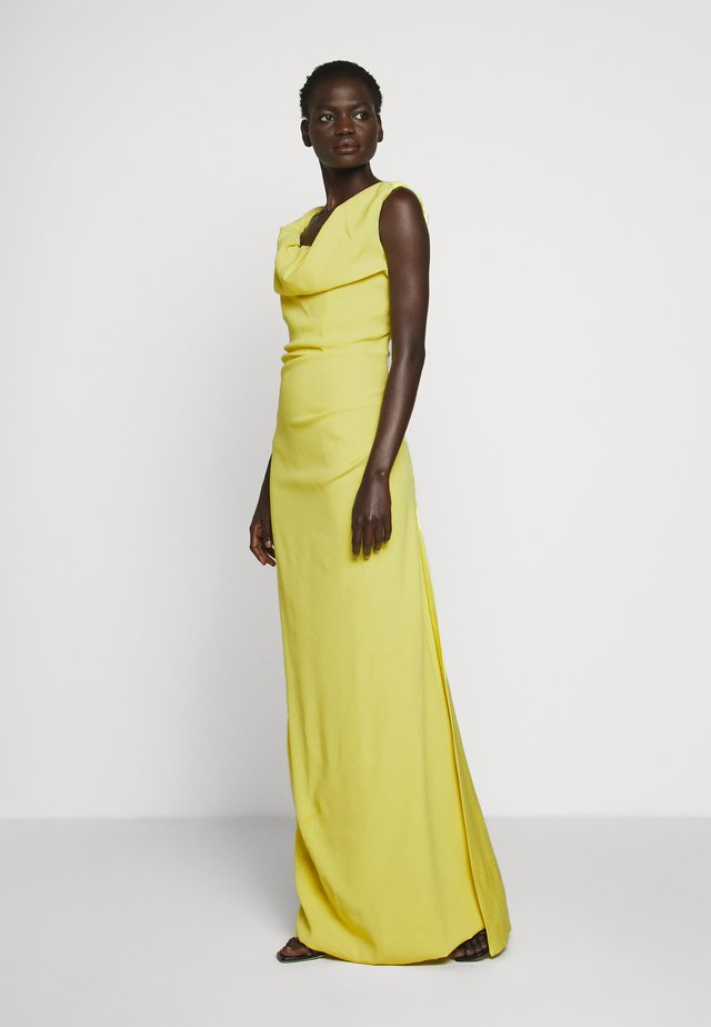 LONG GINNIE DRESS - Occasion wear - yellow