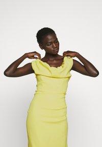 Vivienne Westwood - LONG GINNIE DRESS - Iltapuku - yellow - 4