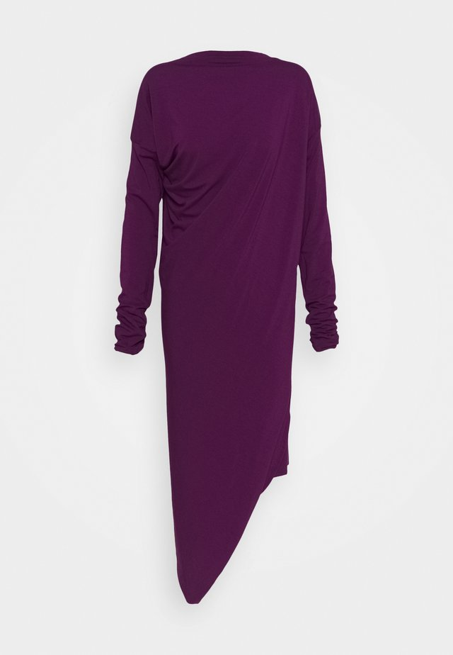 RAY DRESS - Jerseyklänning - purple