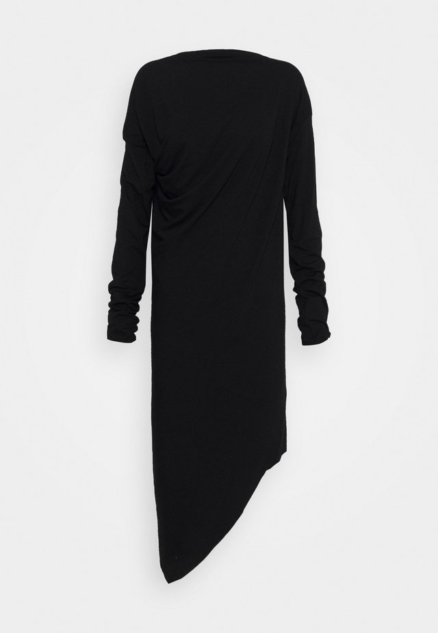 RAY DRESS - Trikoomekko - black
