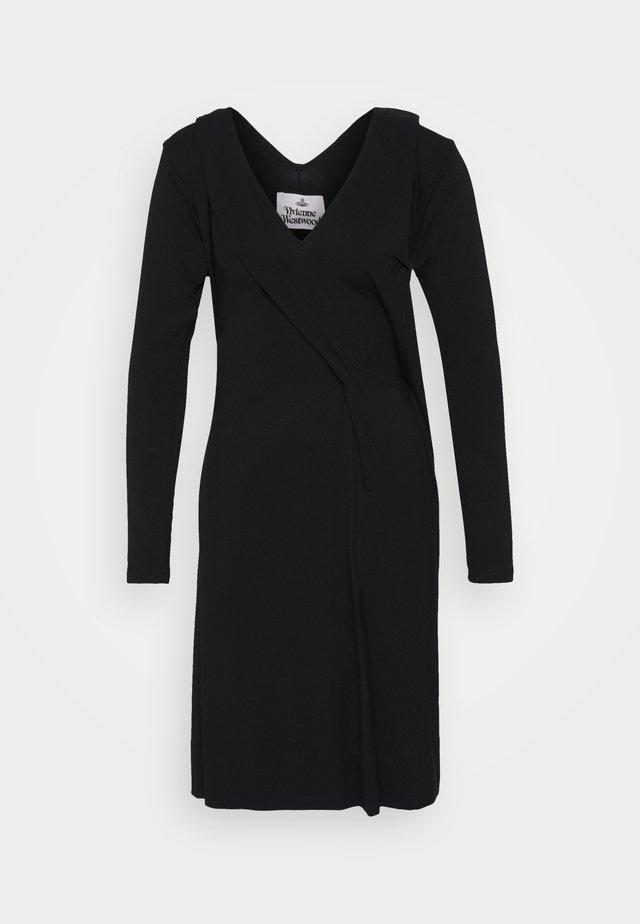 PANEGA DRESS - Jerseykleid - black