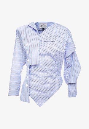 BROKEN MIRROR TOP - Koszula - azure