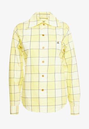 PIANIST  - Camisa - gingham yellow