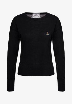 CLASSIC  - Jersey de punto - black