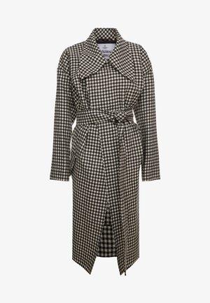 WILMA COAT - Zimní kabát - black/white