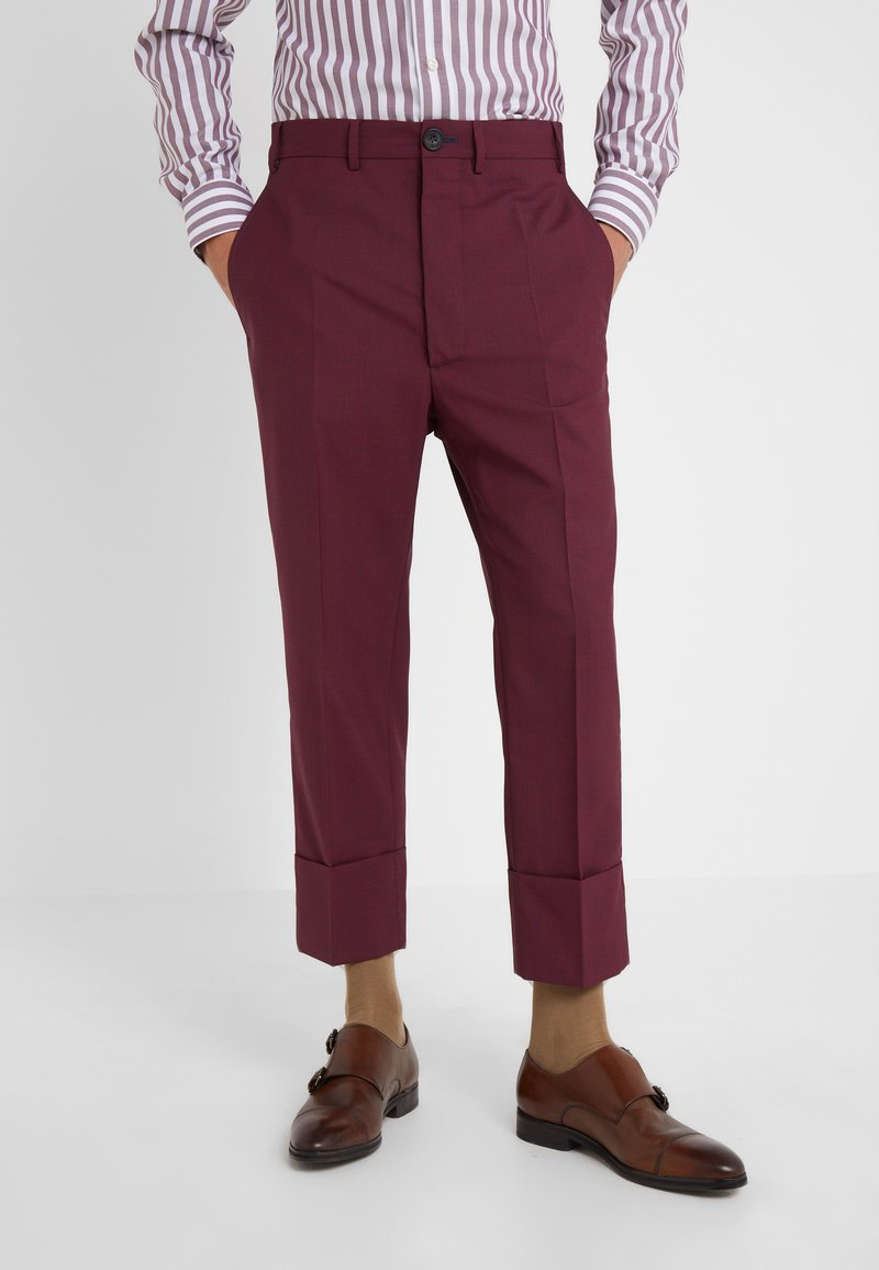 Vivienne Westwood - TROUSER - Suit trousers - red