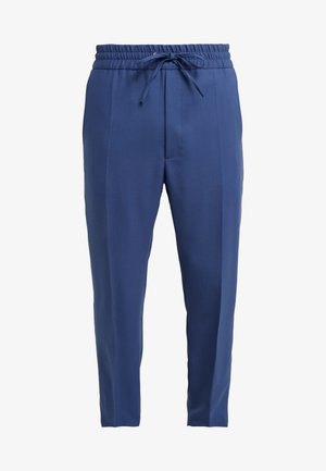 ELASTIC CROP GEORGE SERGE - Pantalon de costume - blue