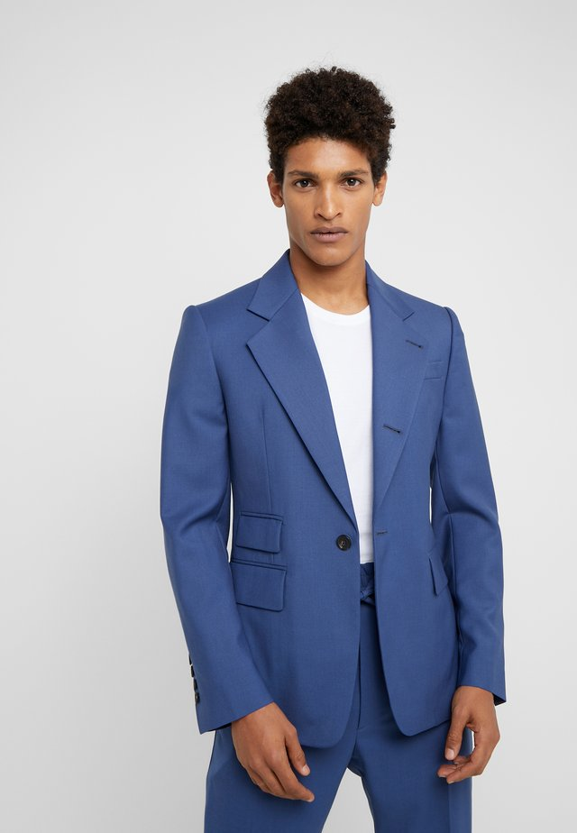 CLASSIC JACKET SERGE - Suit jacket - blue