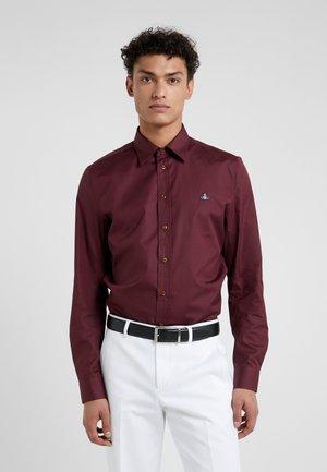 Shirt - burgandy