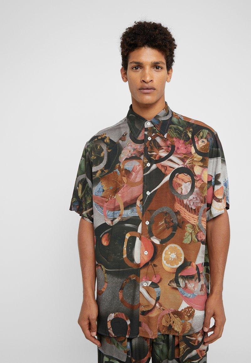 Vivienne Westwood - TARAS SHIRT FETZEN - Košile - multicolor