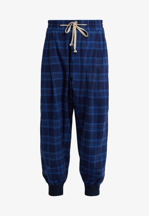 BRUSHED SPORTS MACCA PANT - Tygbyxor - navy