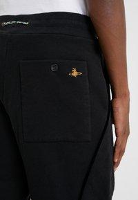 Vivienne Westwood - TRACKSUIT PANTS - Tracksuit bottoms - black - 4