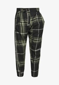 Vivienne Westwood Anglomania - ALCOHOLIC TROUSERS - Tygbyxor - black - 5