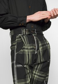 Vivienne Westwood Anglomania - ALCOHOLIC TROUSERS - Tygbyxor - black - 3