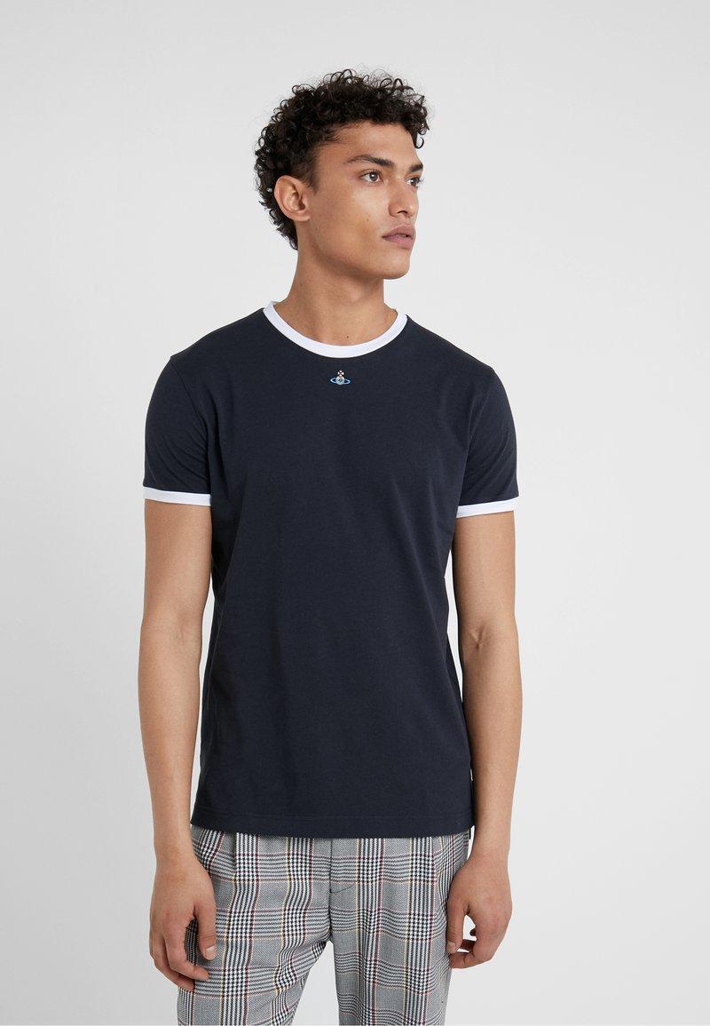 Vivienne Westwood - Print T-shirt - navy