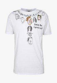 Vivienne Westwood - DANGERO CLASSIC - T-shirt con stampa - white - 4