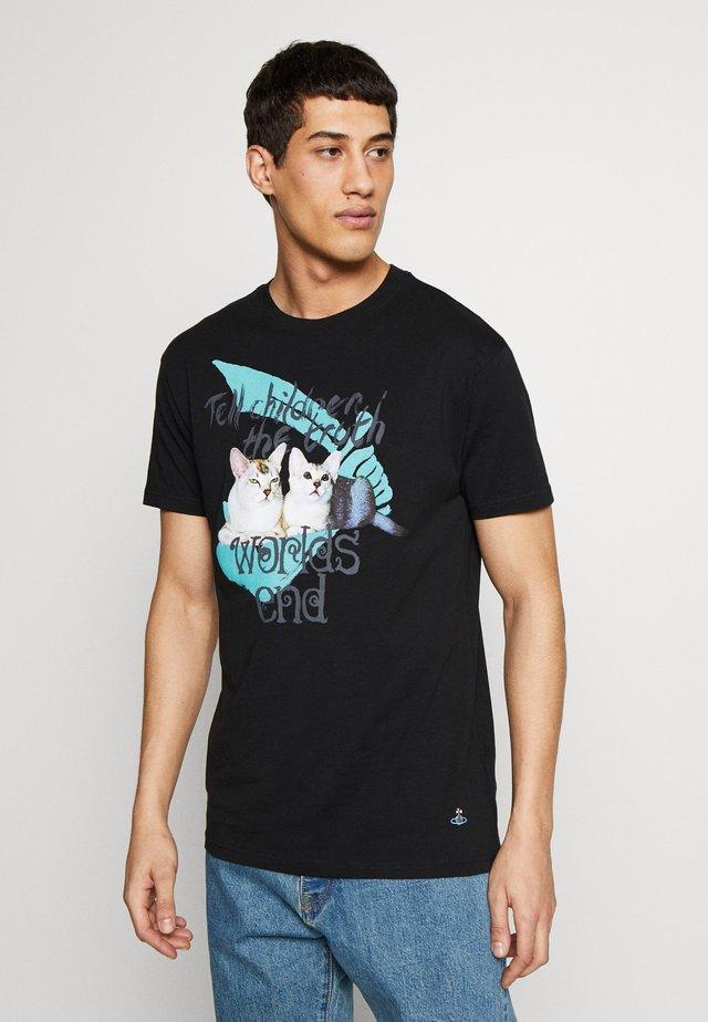 DANGERO CLASSIC - Print T-shirt - black