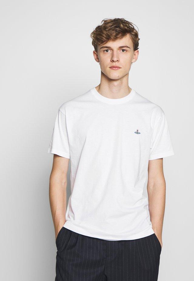 BOXY T-SHIRT - Basic T-shirt - white