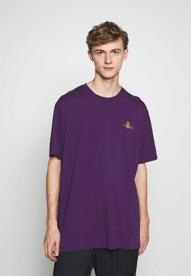 OVERSIZE - T-shirt basic - purple