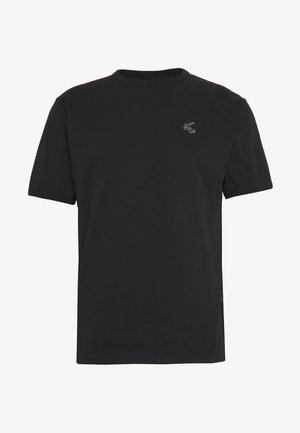 NEW CLASSIC BADGE - Jednoduché triko - black