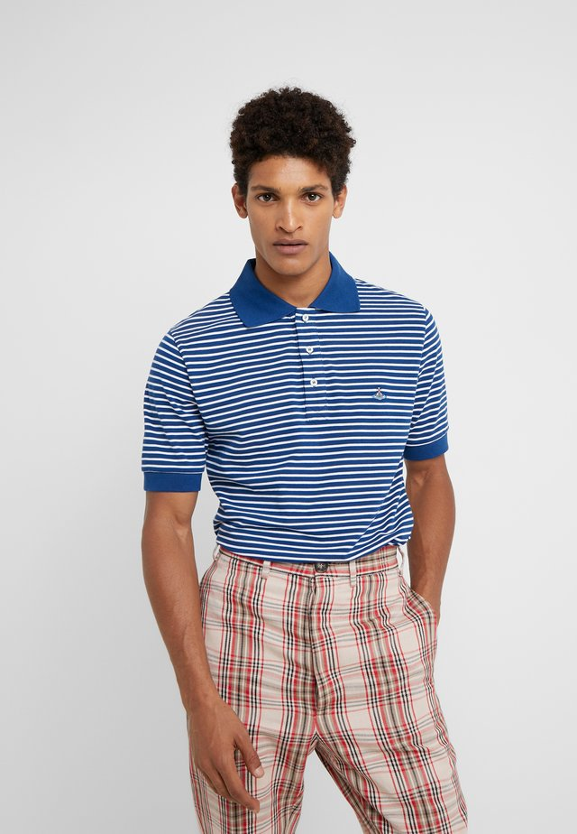 Koszulka polo - blue stripe