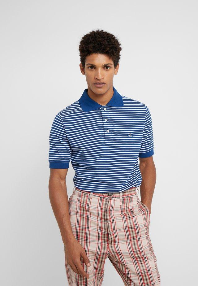 Polo - blue stripe