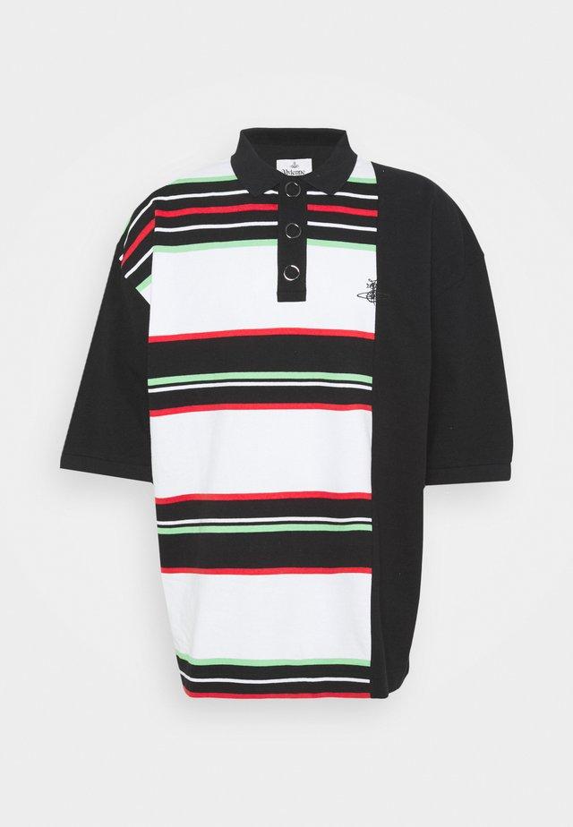 STEFANO POLO - Poloshirts - black