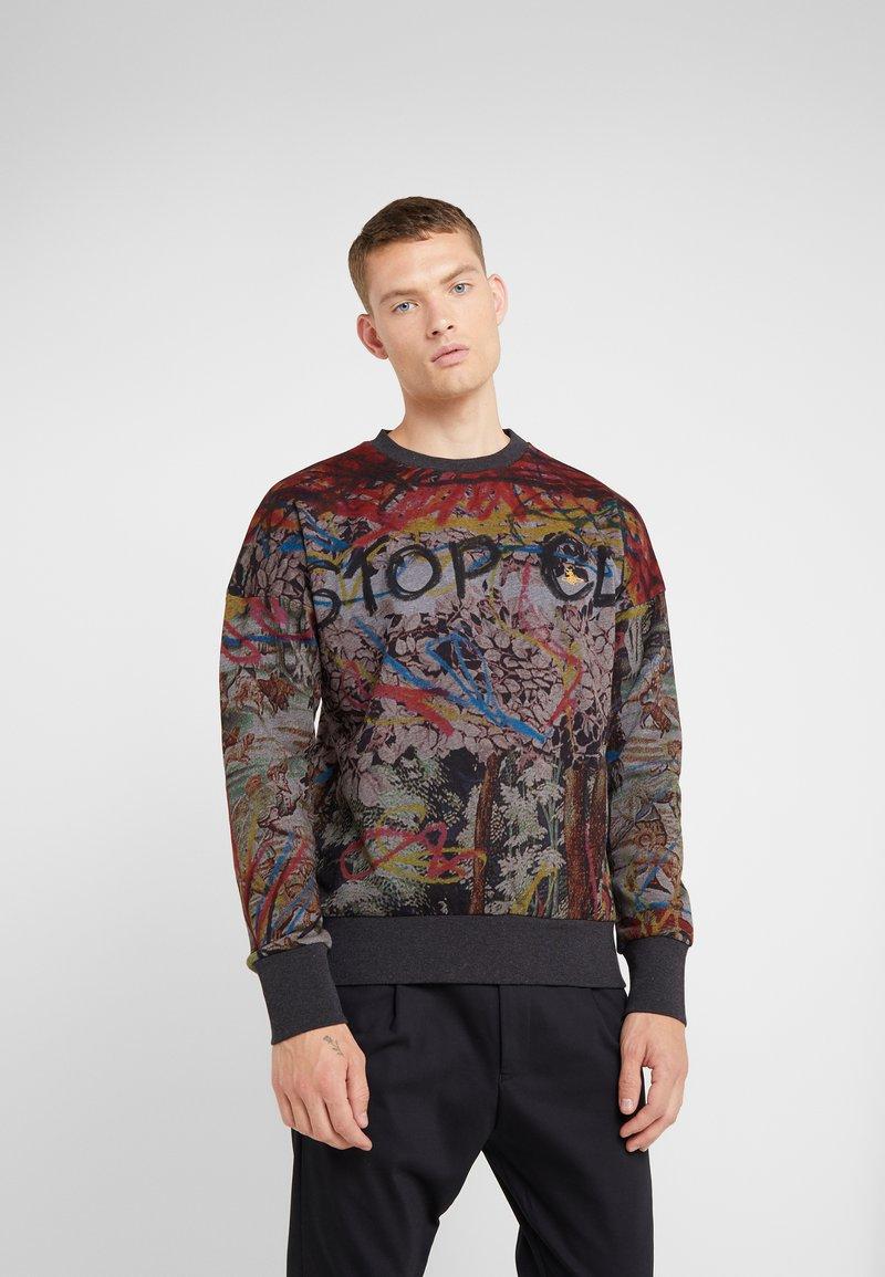 Vivienne Westwood - DROP SHOULDER  - Sweatshirt - black