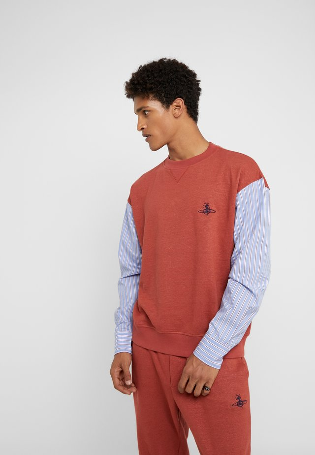 TRACKSHIRT - Sweatshirt - brick