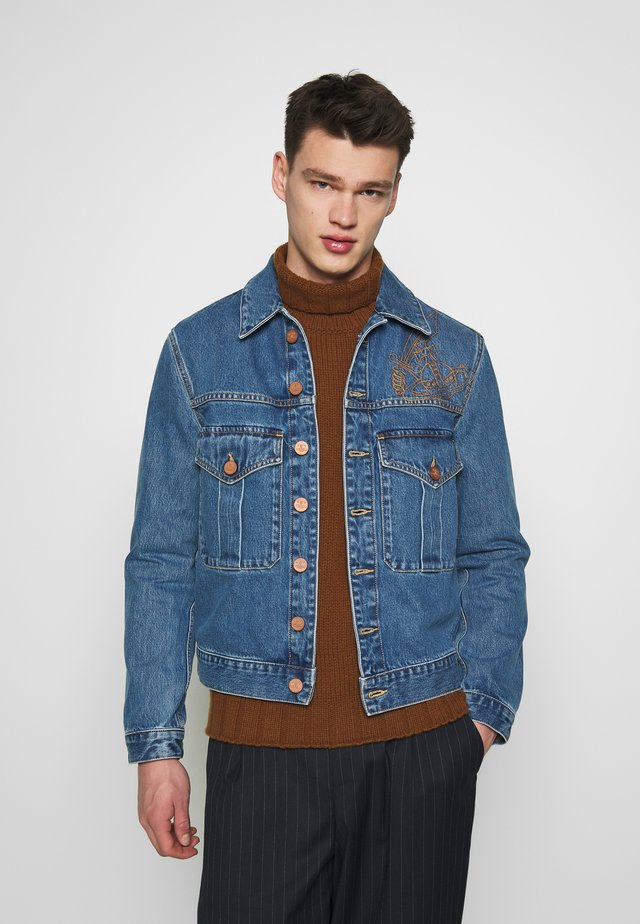 JACKET - Farkkutakki - blue denim